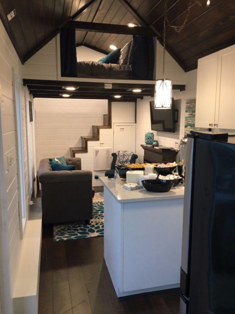 Perfect interior design ideas for tiny house 01 - Round Decor