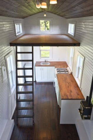Perfect interior design ideas for tiny house 35