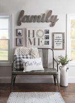Simply and cozy farmhouse wall decor ideas (19)