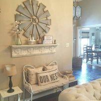 Simply and cozy farmhouse wall decor ideas (5)