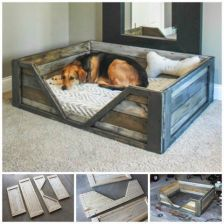 Admirable diy pet bed 42