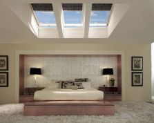 Astounding bedrooms with skylights that everyone will adore 06