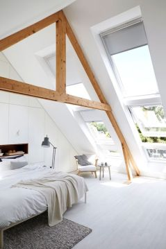 Astounding bedrooms with skylights that everyone will adore 30