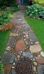 Awesome ways to creatively edge your garden 24