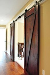 Best way using barn doors inside 06