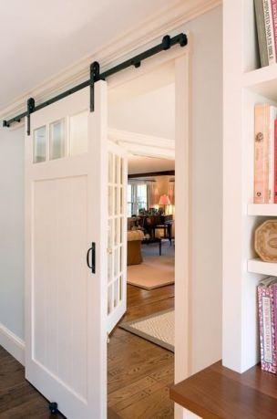 Best way using barn doors inside 15
