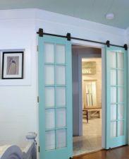 Best way using barn doors inside 33