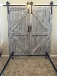 Best way using barn doors inside 38