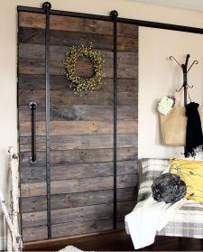 Best way using barn doors inside 42