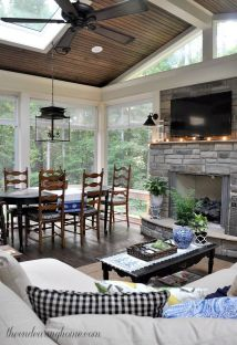Creative best sunroom designs 38