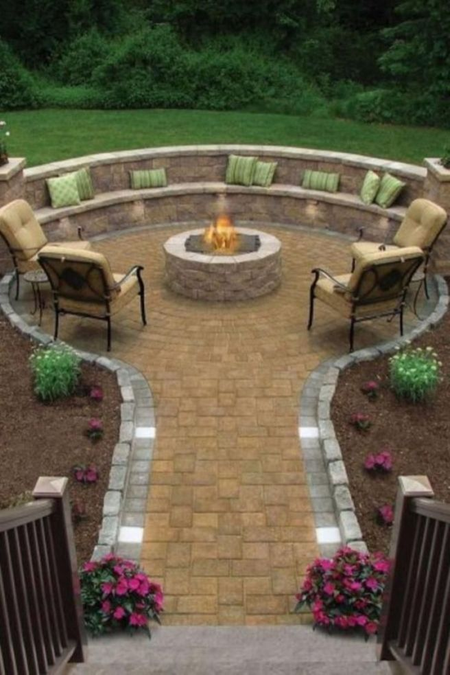 Easy and cheap outdoor spaces 43