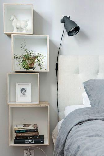 Genius stylish bedroom storage ideas 36