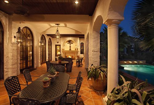 Sophisticated mediterranean porch designs youll fall in love with 16