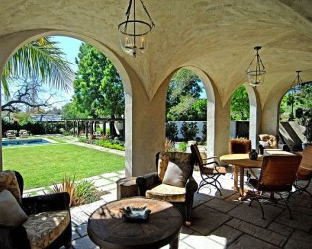 Sophisticated mediterranean porch designs youll fall in love with 36