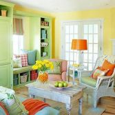 Stunning spring colors home decor edition 32