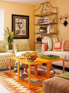 Stunning spring colors home decor edition 47