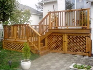 Unbelievable pictures deck landscaping excellence 03