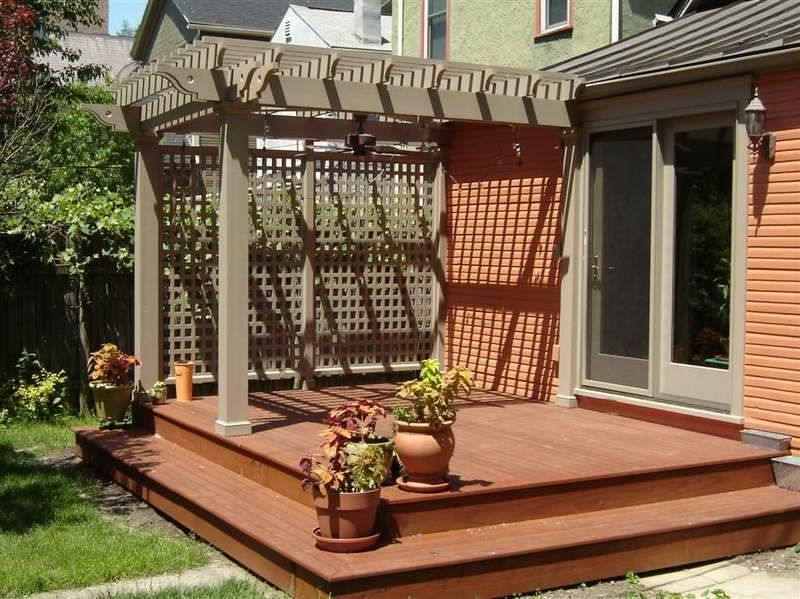 Unbelievable pictures deck landscaping excellence 04