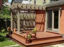 Unbelievable pictures deck landscaping excellence 04