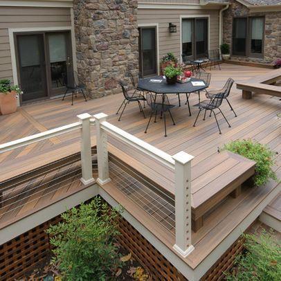Unbelievable pictures deck landscaping excellence 14