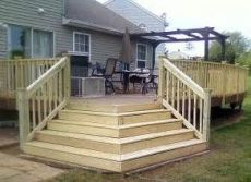 Unbelievable pictures deck landscaping excellence 15