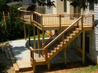 Unbelievable pictures deck landscaping excellence 25