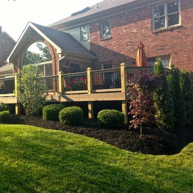 Unbelievable pictures deck landscaping excellence 27