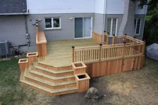 Unbelievable pictures deck landscaping excellence 32