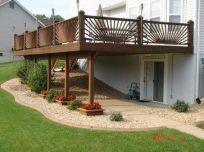 Unbelievable pictures deck landscaping excellence 36