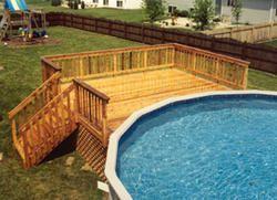 Unbelievable pictures deck landscaping excellence 38