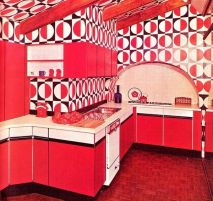 Well passionate red kitchen designs that you must see 21