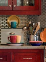 Well passionate red kitchen designs that you must see 29