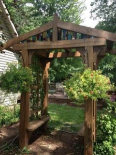 Amazing rustic garden decor ideas 19