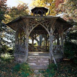 Amazing rustic garden decor ideas 22