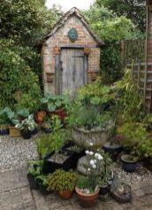 Amazing rustic garden decor ideas 28