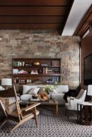 Awesome rustic industrial living room design and decor ideas 08
