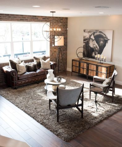 Awesome rustic industrial living room design and decor ideas 44
