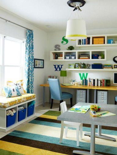 Brilliant study space design ideas 36