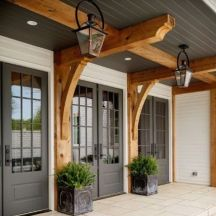 Classic and elegant european farmhouse decor ideas 48