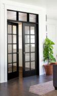 Creative interior transom door design ideas 12