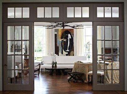 Creative interior transom door design ideas 29