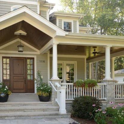 Elegant front door design ideas for your house 05