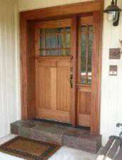 Elegant front door design ideas for your house 07