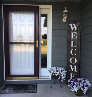 Elegant front door design ideas for your house 25