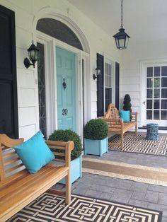 Elegant front door design ideas for your house 30