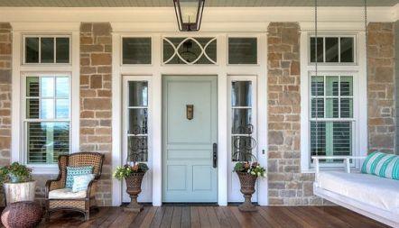 Elegant front door design ideas for your house 33