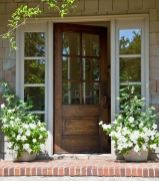 Elegant front door design ideas for your house 34