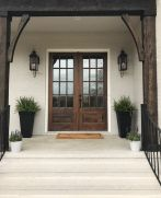 Elegant front door design ideas for your house 35