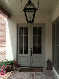 Elegant front door design ideas for your house 40