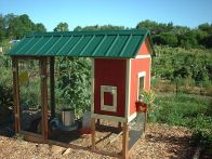 Extraordinary chicken coop decor ideas 23